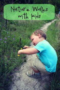 Play Outside: Tips for Taking Your Kids on a Nature Walk #Knoala