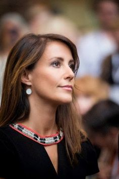 Princess Marie of Denmark Attends the Copenhagen Jewelry and Watch Show 2014