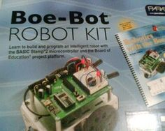 2R Hardware & Electronics: Boe-Bot Robot : Great Basic stamp programming flex...