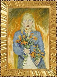 Joni Mitchell, the flowers give you away saskatchewan girl
