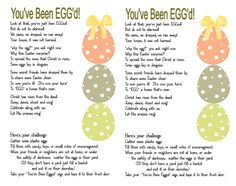 You've Been Egged Poem 5x7