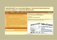 15 Jahre Woerterbuch- und Lexikonverlag Lehrmittel-Wagner (Bereich: Lernhilfen fuer die Technische Berufsausbildung; Produkt-Beispiel: CD-ROM deutsch-englisch Technik-Uebersetzungen)