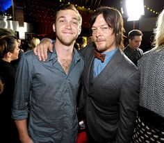 Phillip Phillips and Norman Reedus at The Walking Dead Premiere. my dream come true. The Walking Dead, Walking Dead Premiere, Phillips Phillips, I Still Love Him, Dear Future Husband, Daryl Dixon, American Idol, Lady And Gentlemen, Celebs