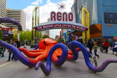 Aerial view of reno at night favorite places pinterest nevada copy of sculpture fest edit reno biggestlittlecity homemeansnevada nevada malvernweather Images