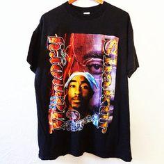Vintage 1996 Tupac Shakur 2pac Shirt Thug Life - XXL -