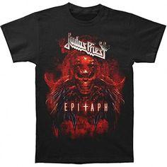Judas Priest: Epitaph Red Horns (tricou) Metal Fashion, Judas Priest, Metalhead, Horns, Weapon, Crowd, Personality, Pride, Mens Tops