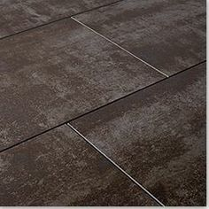 Style Selections 12-in x 12-in Jackson Ridge Black Glazed Porcelain ...
