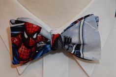 SpiderMan Bow Tie by PinchAndPull on Etsy, $20.00