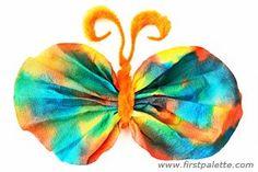 Coffee Filter Butterflies craft