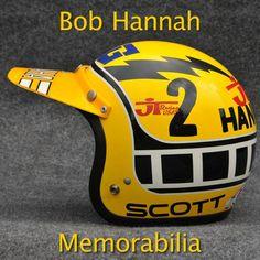 Bob Hannah Helmet