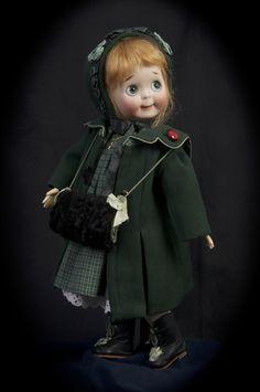 J.D.K. 221 Googly from Swiss Doll Studio Branka Scharli