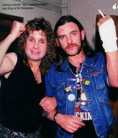 Ozzy & Lemmy