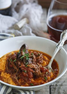 Slow Cooker Short Rib Ragu is a healthy comfort food perfect for the colder weather.