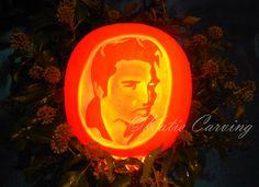 Elvis Sculpture, pumpkin carving in Geneva Pumpking Carving, Geneva, Sculpture, Halloween, Art, Art Background, Kunst, Sculpting, Performing Arts