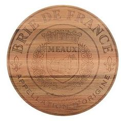 Crafted from acacia wood with a natural finish, this round cheese board is sophisticated in design and is complete with a French design etched on to the surface. Xmas Wishes, Acacia Wood, Soft Furnishings, Dinnerware, Cheese, Dining, Tableware, Board, Products
