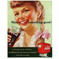 Persuasive language in old Coke adds