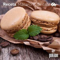 Receta de macarons de café - Café Jurado