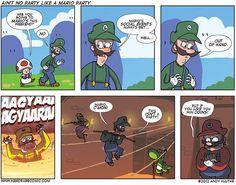 its'a Evil Mario party