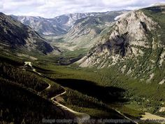 Beartooth Hwy. Wyoming & Montana  No place like home...