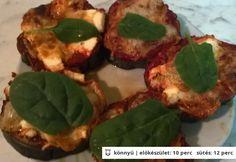 Feta sajtos-paradicsomos sült padlizsán Baked Potato, Feta, Pork, Potatoes, Chicken, Baking, Vegetables, Ethnic Recipes, Pork Roulade