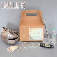 Kit Matériel du débutant pour faire ses cosmétiques soi-même - 32 € le kit pour réaliser des émulsions, crèmes...