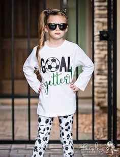 Soccer Girl Shirt  Soccer Shirt  Soccer Tee by PaisleysSparkleyTs