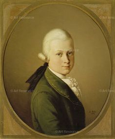 Wolfgang Amadeus Mozart as a child by Unknown Artist