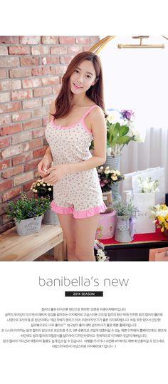 Banibella Lauren homewear sleepwear / cotton 100% / the best quality / summer pj