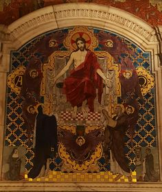 Westminster cathedral, St John Southworth chapel.