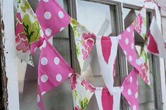 bunting, for jess