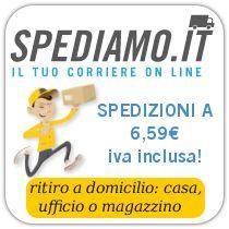 http://www.spediamo.it/registrati?promo_code=460051ff3dcd12b2c2464fe0e5bc5701b66e29ba#.UxWegPUPJyA.email Codici sconto, coupon voucher per le spedizioni via corrieri espresso online.  Puoi inviare Pacchi fino ad un peso di 3kg ad un prezzo bassissimo. è il corriere espresso online più basso del web, puoi spedire Pacchi e buste raccomandatate in modo economico. Finalmente un corriere espresso online low cost per tutti i tipi di spedizioni €6,59
