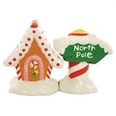 whimsical salt and pepper shakers -