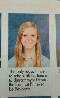 The Sad Quote: | The 38 Absolute Best Yearbook Quotes From The Class Of 2014