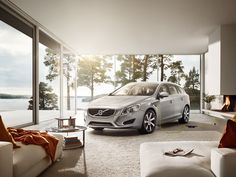 Bringing ideas to life with photography and CGI - This is Made Productions Volvo, Bring It On, Living Room, Car, Home, Style, Scandinavian Design, Swag, Automobile