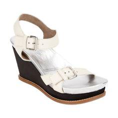 Marni Buckle-Strap Platform Wedge Sandals at Barneys.com