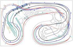 Model Railroad Layout Plans - 916
