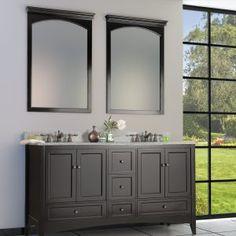 Berkshire Espresso Bathroom Floor Cabinet