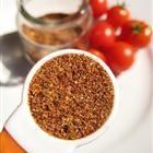taco seasoning: 1 tbsp chili powder + 1/4 tsp garlic powder + 1/4 tsp onion powder + 1/4 tsp crushed red pepper + 1/4 tsp dried oregano + 1/2 tsp paprika + 1 1/2 tsp cumin + 1 tsp sea salt + 1 tsp black pepper