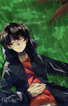 happy birthday Nico di Angelo!! based on the info I have, his birthday is on January 28~ not sure if it's official but meh (developed a new art style while doing this woot woot