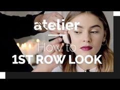 How to: 1ST ROW LOOK mit Stefanie Giesinger auf der Paris Fashion Week - YouTube