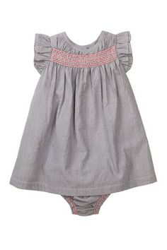 Mini Stripe Dress & Bloomer Set (Baby Girls) by French Connection on @HauteLook