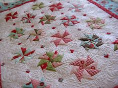 Green Fairy Quilts: Sherri's fun and fast quilt................