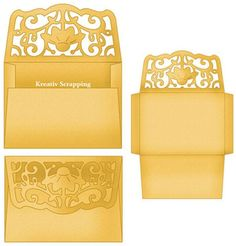 COTTAGECUTZ - CX015 - FILIGREE DAISY ENVELOPE http://www.kreativscrapping.no/products/cottagecutz-cx015-filigree-daisy-envelope