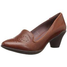 Miz Mooz Womens Gracie Leather Smoking Loafers Pumps