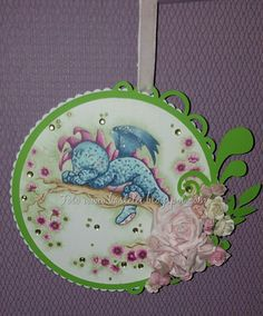 #Dreamy Dragon, # Sylvia Zet, #Wee Stamps, #Copics on my blog
