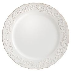 Antique Scroll Salad Plate Love this from Pier 1 for entertaining to use with both blue and white china and Autumn Cornucopia china by Sadek  sc 1 st  Pinterest & 3) Bordallo Pinheiro-Grapevine-White LUNCHEON PLATES-Portugal
