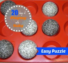 Easy Puzzle {Playing With Baby, Day 2}