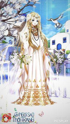 Carol Anime Wedding, The Ancient Magus Bride, Xxxholic, Kawaii Dress, The Dark Crystal, Beautiful Costumes, Female Character Design, Anime People, Fairy Land