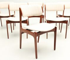 Erik Eric Buch Buck chair rosewood design danish modern vintage denmark oddense odense slagelse