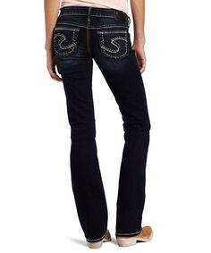 Details about SILVER JEANS Super Low Tuesday 16 1/2 Slim Bootcut ...